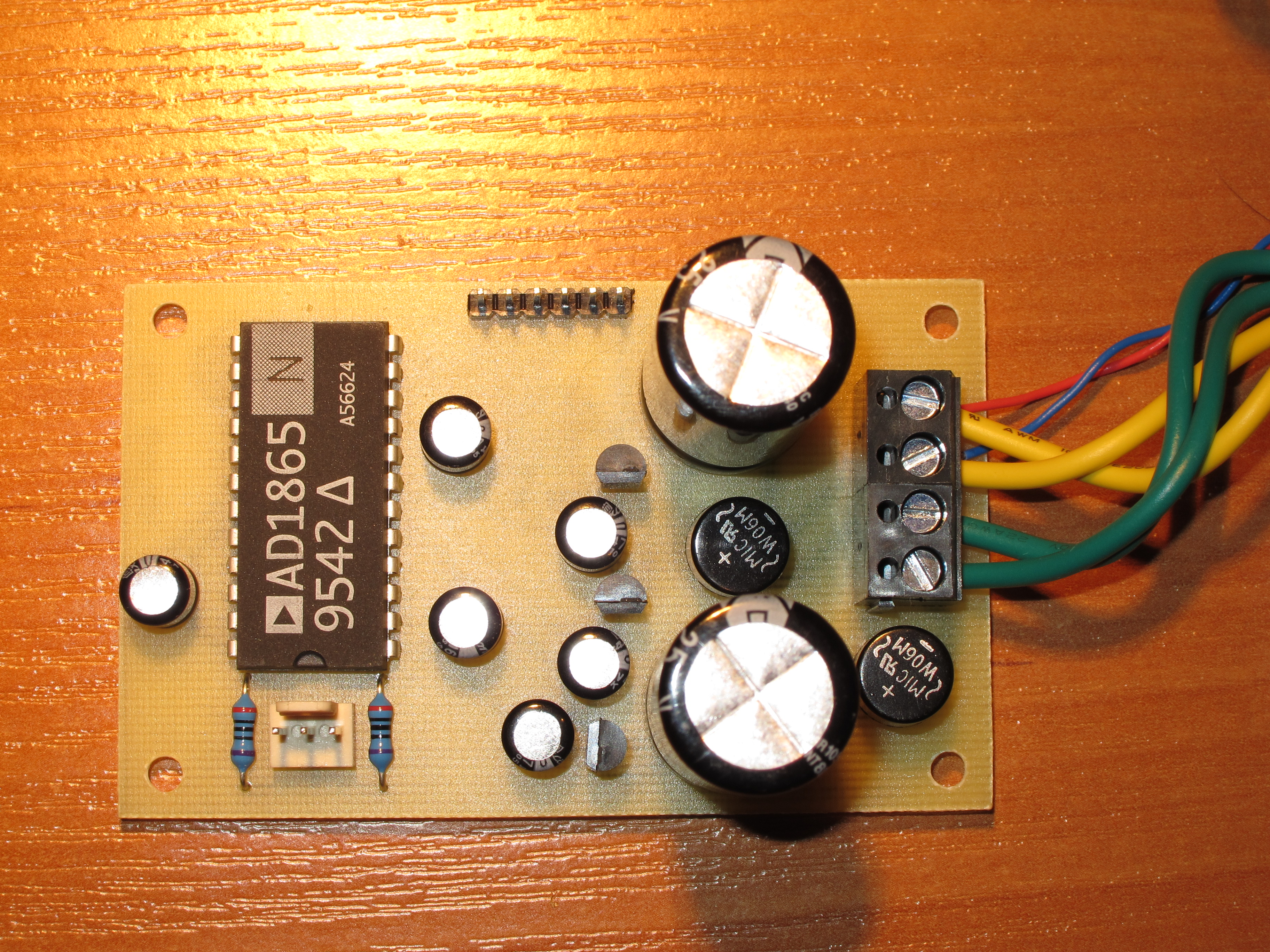 Audio Dac With Ad1865